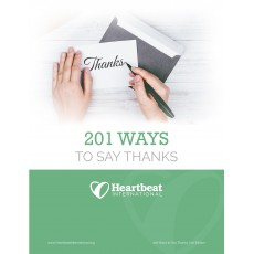 201 Ways to Say Thanks
