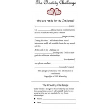Chastity Challenge Cards